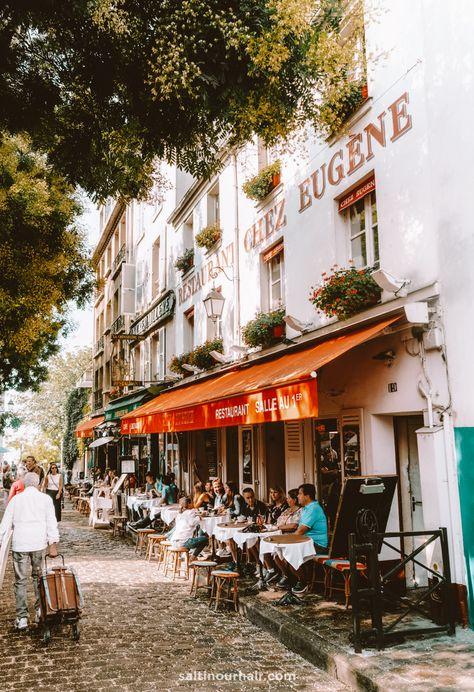Montmartre Paris, Oh Paris, Paris City, Paris Street, Saint Ouen, Piper Mclean, European Summer, Travel Aesthetic, Paris Travel