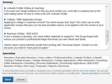How to Improve Your LinkedIn Profile  Social Media Examiner - how to write a profile