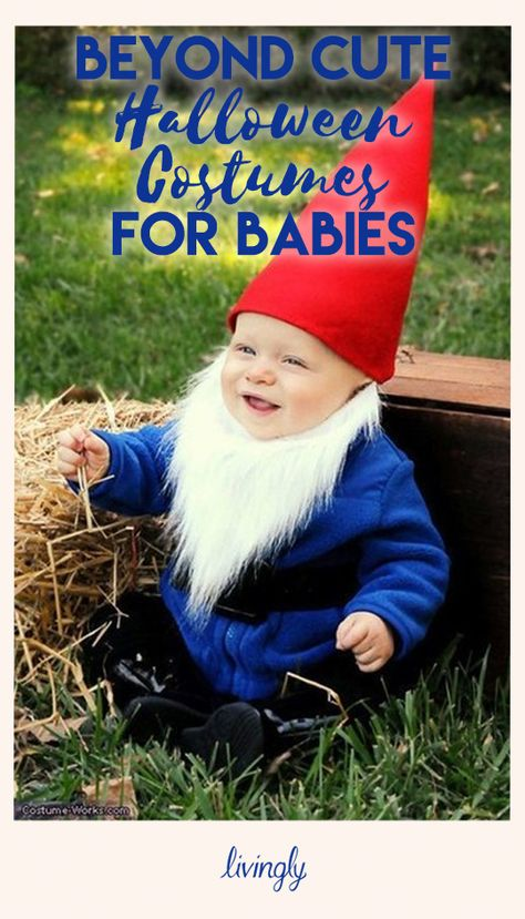 Beyond Cute Halloween Costumes for Babies