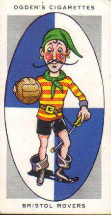 Bristol Rovers FC - Ogden's Cigarette Card - AFC Nicknames