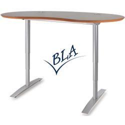 executive office desks- Chefschreibtische Executive desk Vto Elektro Profi silver 191 x 101 cm color selection Optionenbla-ulm.