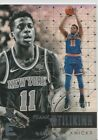 2017-18 Essentials FRANK NTILIKINA Silver Prizm RC Insert Card 59/99 #Basketball