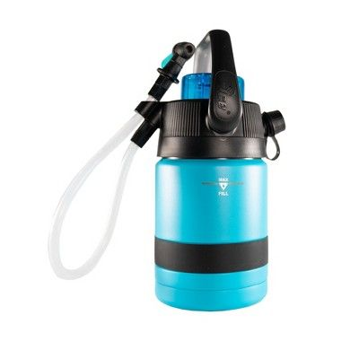Nice Coolers Pump2pour 1 2 Gallon Insulated Jug With Hose And Spout Miami Blue Gallon Jugs Insulated