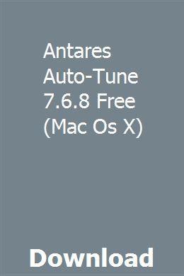 Download Autotune For Mac Free