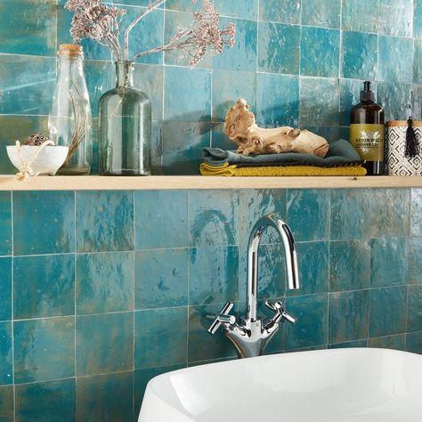Carrelage Mosaique Lazuli Leroy Merlin Zellige Salle De Bain