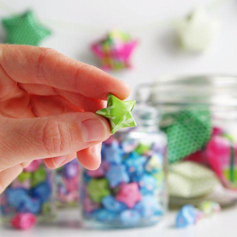 Fun Folded Origami Lucky Stars