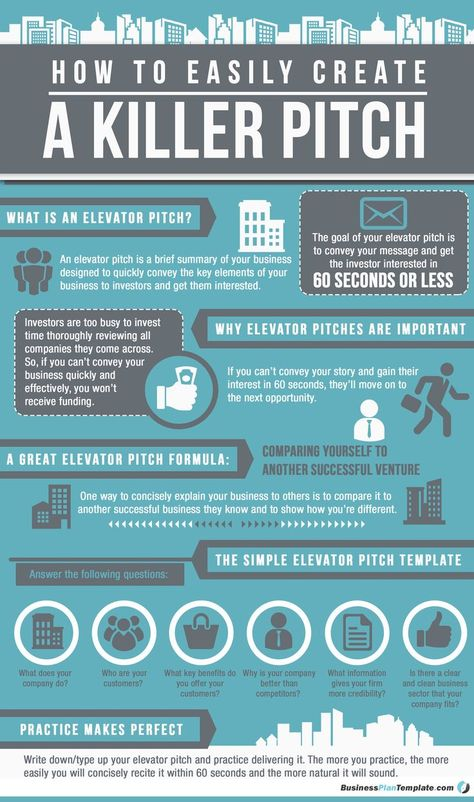 Business infographic & data visualisation   Elevator-Pitch-Template-Infographic   Infographic   Description  Elevator-Pitch-Template-Infographic    – Infographic Source –