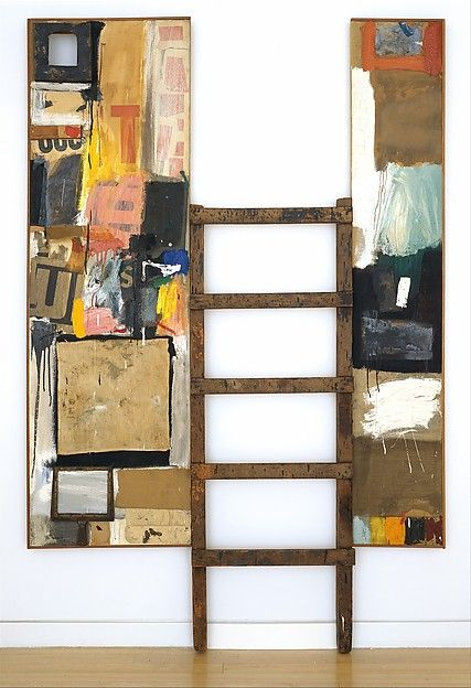 Rauschenberg Robert - Winter Pool - Gallery 923 // Neo-Dada, Abstract Expressionism // Further Reading: http://www.guggenheim.org/new-york/collections/collection-online/artists/bios/1396