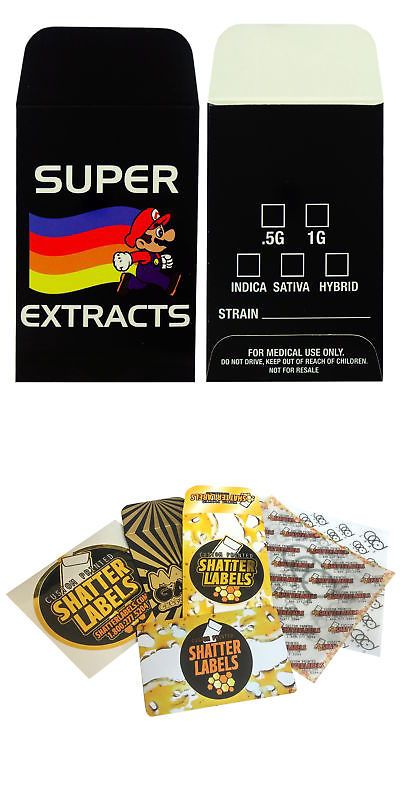 Paper and Envelopes 3123: Super Extracts Concentrate Shatter Strain