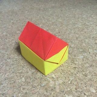 おりがみで立体の家を作ってみよう 画像解説付き Tableware