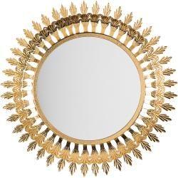 Wandspiegel Gold Rund O60 Cm Vorey Belianibeliani Badspiegel Led