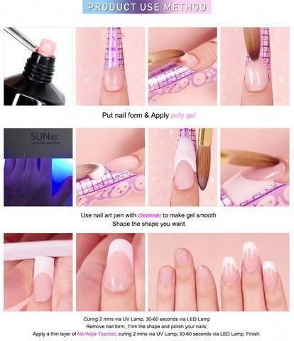 Nail Tips And Tricks Skin Care Howtodonailtips Diy Acrylic Nails Gel Nail Designs Gel Nails