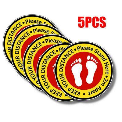 Ebay Ad Link 5pcs Shop Floor Stickers Social Distancing Floor Decals Stickers 20 3cm Dia Floor Stickers Sticker Sign Floor Decal