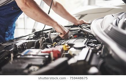 Auto Mechanic Working In Garage Repair Service Car Maintenance Car Mechanic Mobile Mechanic