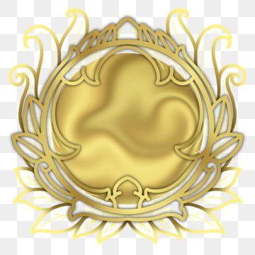 Luxury Golden Circle Frame Frame Golden Frame Golden Png Transparent Clipart Image And Psd File For Free Download Circle Frames Golden Circle Geometric Background