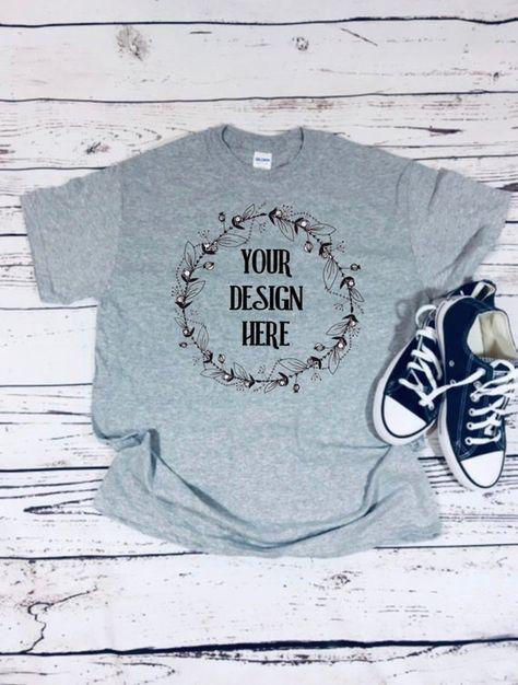 Download Free Gildan T Shirt Mockup Etsy Shop T Shirt Mockup Psd