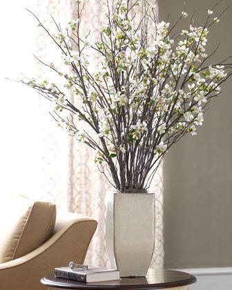 10 best florals images on pinterest artificial flowers artificial flower arrangements and faux flower arrangements - Branch Flower Arrangements