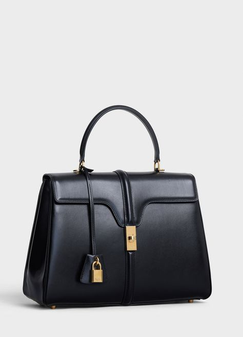 Medium 16 Bag in Satinated Calfskin   CELINE - see large version in the first place