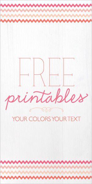 free printables. (:
