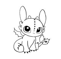 This Is For Ya In 2020 Dragon Coloring Page Cute Toothless Dragon Drawing