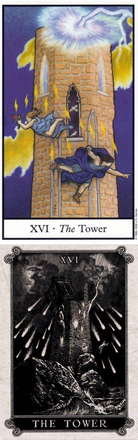 The Tower Sudden Disaster And Delaying Inevitable Disaster Reverse Connolly Tarot Deck And Arcana Tarot Tarot D Relationship Tarot Tarot Major Arcana Tarot