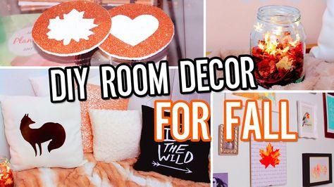 Diy Room Decor For Fall Make Your Room Cozy No Sew Pillow
