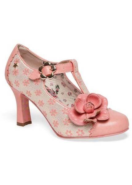 Joe Browns Couture Cecelia Pumps Rosa Absatzschuhe Mit Riemchen Rosa Schuhe Vintage Schuhe