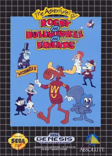 Adventures Of Rocky And Bullwinkle And Friends Sega Genesis Sega