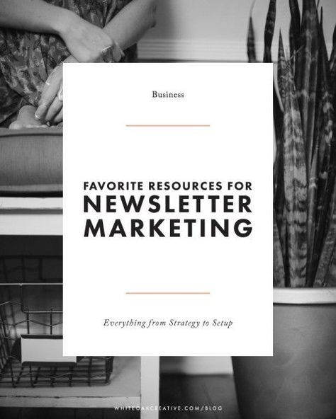 The Who, What, Why, and How of Email Newsletters | email marketing tips | list building