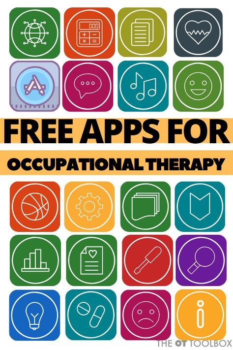 Use these free apps for occupational therapy activities to build skills in handwriting, fine motor, visual motor, executive functioning, and regulation. Ocupational Therapy, Therapy Games, Vision Therapy, Hand Therapy, Occupational Therapy Programs, Pediatric Occupational Therapy, Pediatric Ot, Visual Motor Activities, Physical Activities