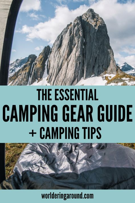 The best camping equipment and essential wild camping tips ...