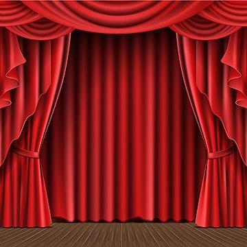 Vector Realista De Cortina De Escenario Escenario Rojo Cortina Png Y Vector Para Descargar Gratis Pngtree In 2020 Stage Curtains Curtains Curtains Vector