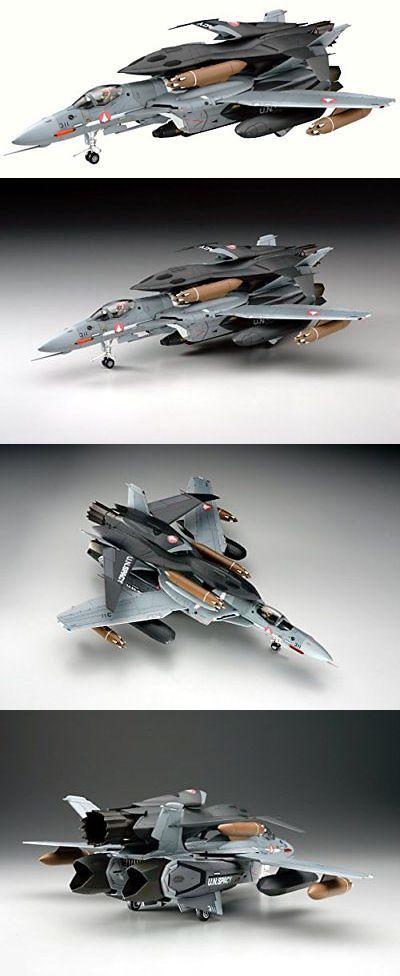 Hasegawa Macross Zero VF-0A//S w// Ghost 1//72 Scale Plastic Model Kit 65777