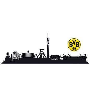Inspirational Die besten Bvb wandtattoo Ideen auf Pinterest Skyline dortmund Borussia dortmund bayern und Borussia dortmund wallpaper