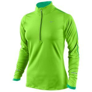 a47595f95 Nike Dri-Fit Performance Running Top - Women's - Running - Clothing -  Electric Green/Stadium Green/Reflective Silver