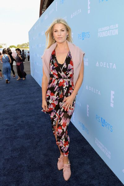 Ali Larter attends P.S. ARTS Express Yourself 2018 at Barker Hangar.