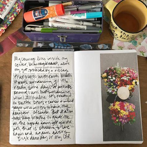 A few of my favorite journaling supplies