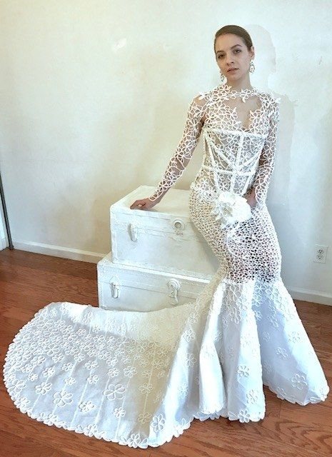 Wedding Dress Designer Hayley Paige Is Getting Her Own Tv Series Toilet Paper Wedding Dress Different Wedding Dresses Wedding Dresses