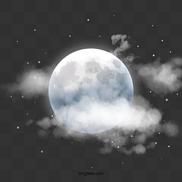 Halo Moon In Hand Drawn Clouds In The Clouds Halo Moon Png Transparent Clipart Image And Psd File For Free Download In 2020 Star Background Clouds Ocean Backgrounds