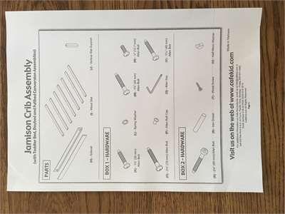 Solved Do You Have Instructions For The Cafe Kids Devon 4 Fixya Devon Pottery Barn Crib Instruction