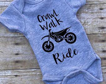 Crawl Walk Ride Onesie
