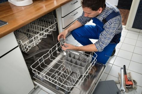 A Blocked Dishwasher Drain Is A Project Any Diyer Can Take On With The Proper Tools And Some Step B Dishwasher Repair Appliance Repair Appliance Repair Service
