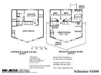 Pan Abode Cedar Homes In 2021 Cedar Homes Floor Plans Log Home Kits