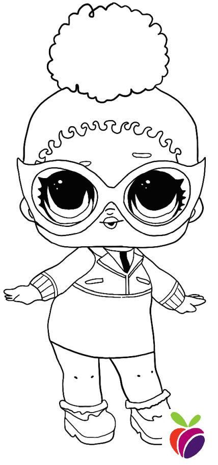 Lol Surprise Sparkle Series Coloring Page Boss Queen Unicorn Coloring Pages Coloring Pages Star Coloring Pages