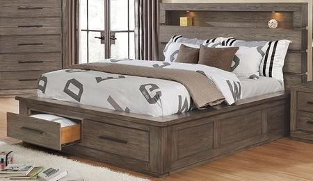 Pin By Katherine Hidalgo On Camas Inspo King Size Bedroom Furniture Bookcase Headboard Bed Frame With Storage