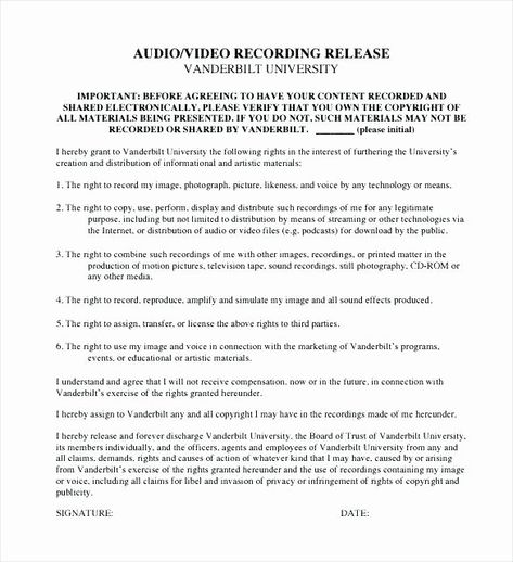 Recording Studio Contract Template In 2020 Contract Template
