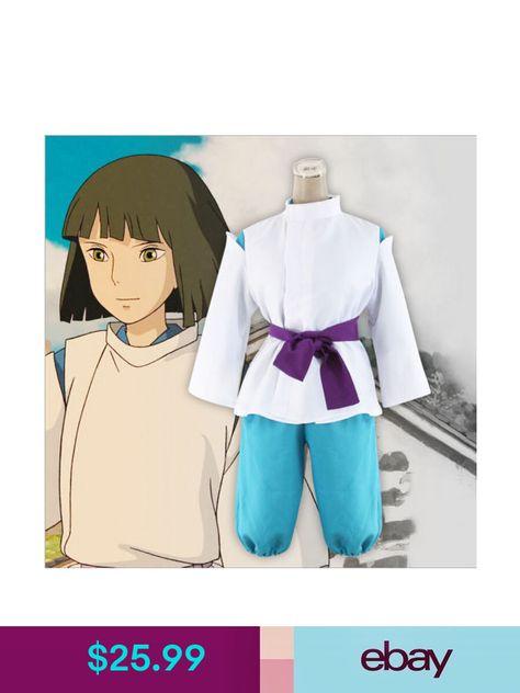 Custom-made Naruto Anime Haku Cosplay Costume Halloween Set New
