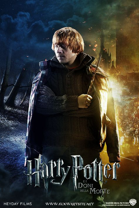 Ron Weasley - Deathly Hallows Extended by HogwartSite on DeviantArt