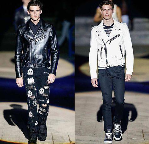 e71534bbc815 Philipp Plein 2015 Spring Summer Mens Runway Looks - Milano Moda Uomo  Collezione Milan Fashion Week