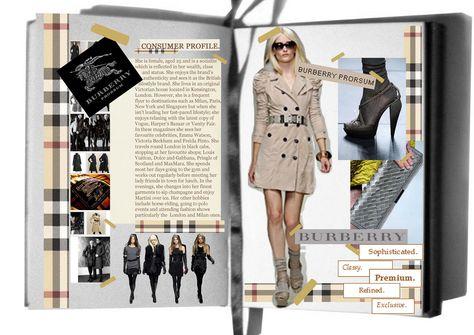 #Consumer Profile #Burberry #Womenswear